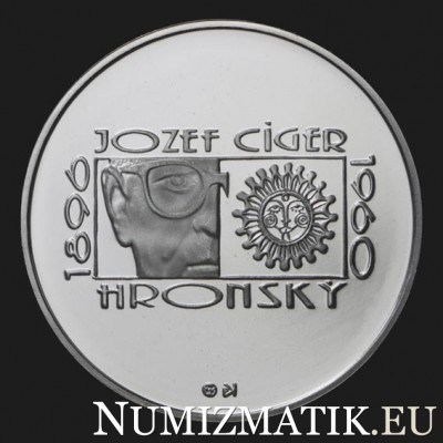200 Sk/1996 - J. C. Hronský - 150th anniversary of the birth