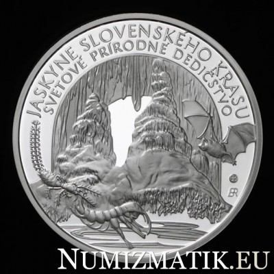 10 EURO/2017 - UNESCO World Heritage – Caves of Slovak Karst