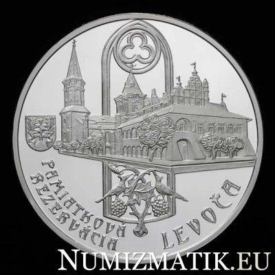 20 EURO/2017 - Levoča Heritage Site and the 500th anniversary of the completion of the high altarpiece in St James´s Church