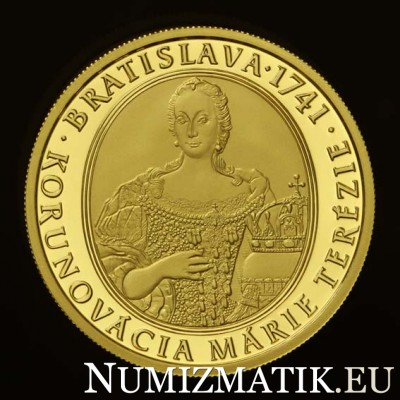 100 Euro/2016 - Maria Theresa - 275th anniversary of the coronation
