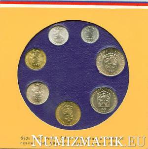 Coin set - CSSR 1987