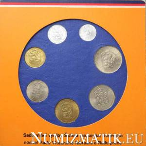 Coin set - CSSR 1986
