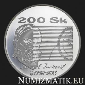 200 Sk/1996 - Samuel Jurkovič - 200th anniversary of the birth