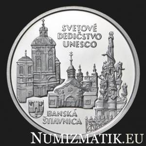 200 Sk/1997 - UNESCO World Heritage - Banská Štiavnica and the Technical Monuments in its Vicinity