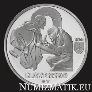 10 Euro/2011 - 900th anniversary of the Zobor documents