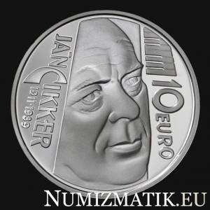 10 Euro/2011 - Ján Cikker – 100th anniversary of the birth