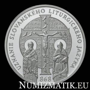 10 EURO/2018 - 1150th anniversary of the recognition of the Slavonic liturgical language
