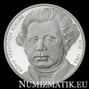 10 EURO/2018 - Adam František Kollár - 300th anniversary of the birth