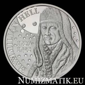 10 EURO/2020 - Maximilián Hell - 300th anniversary of the birth
