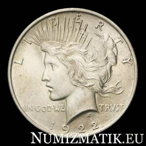 USA - 1 dolár/1922 Peace Dollar