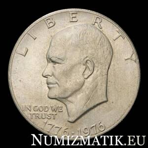 USA - 1 dolár/1976 Eisenhower Dollar