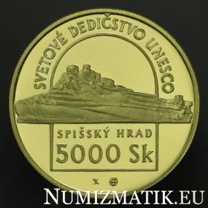 5000 Sk/1998 - UNESCO World Heritage - Spišský Hrad and the Associated Cultural Monuments
