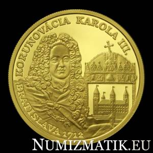 100 Euro/2012 - Karol III. – 300th anniversary of the coronation
