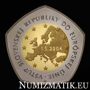 10000 Sk/2004 - The Slovak Republic's accession to the European Union