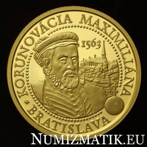 100 Euro/2013 - Maximilian – 450th anniversary of the coronation